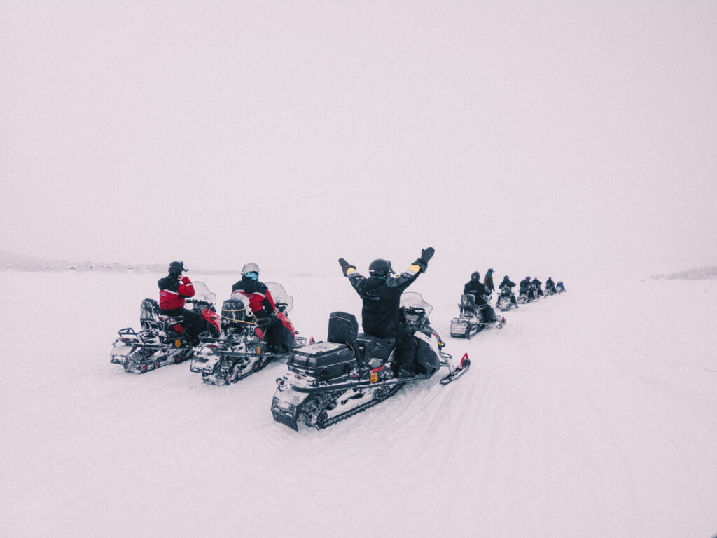Snowmobiling Tromso Norway