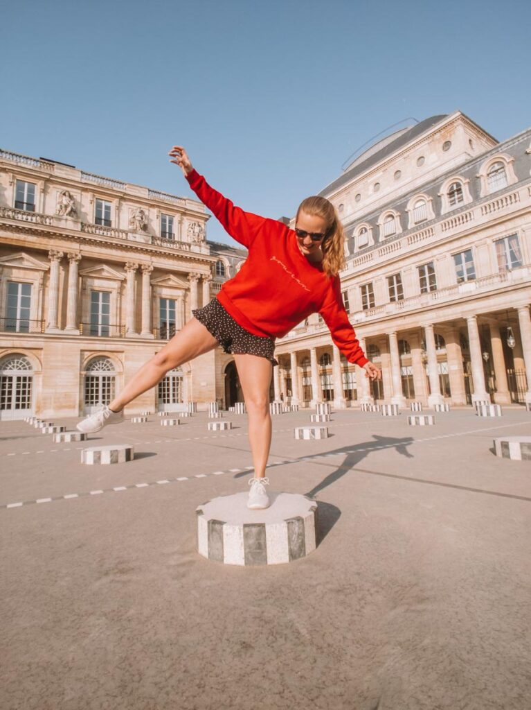 Paris Instagram spots Palais Royal