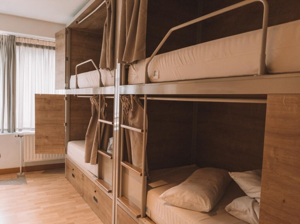 Best San Sebastian hostel dorm rooms
