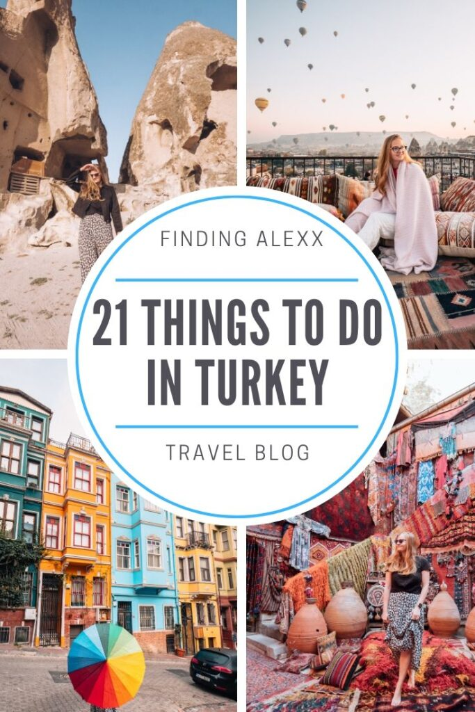 Turkey things to do pin