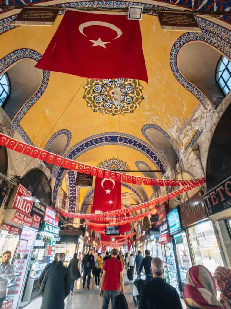 Grand Bazaar things to do in Istanbul Turkey