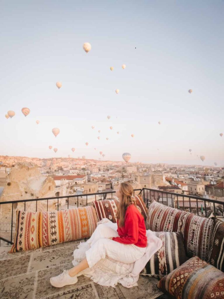 Best things to do in Turkey Cappadocia balloons