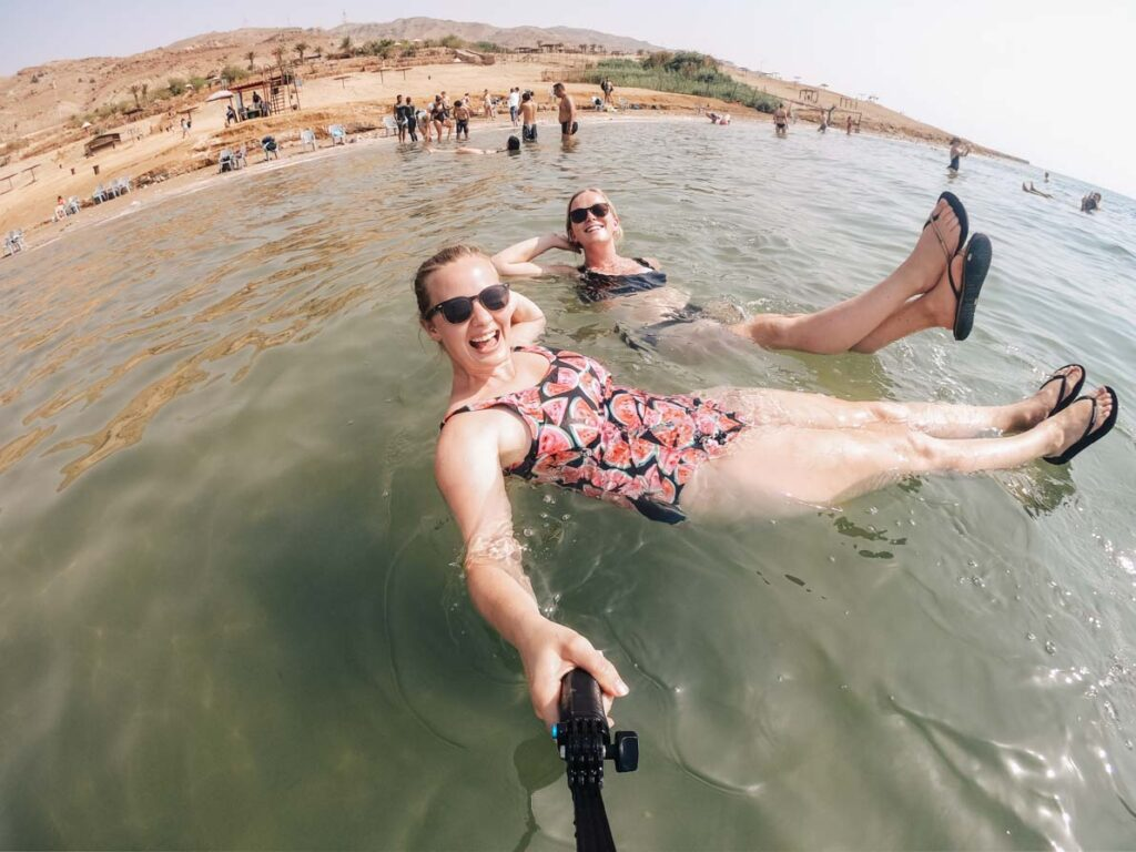 Things to know before going to Israel: you can float in the dead sea