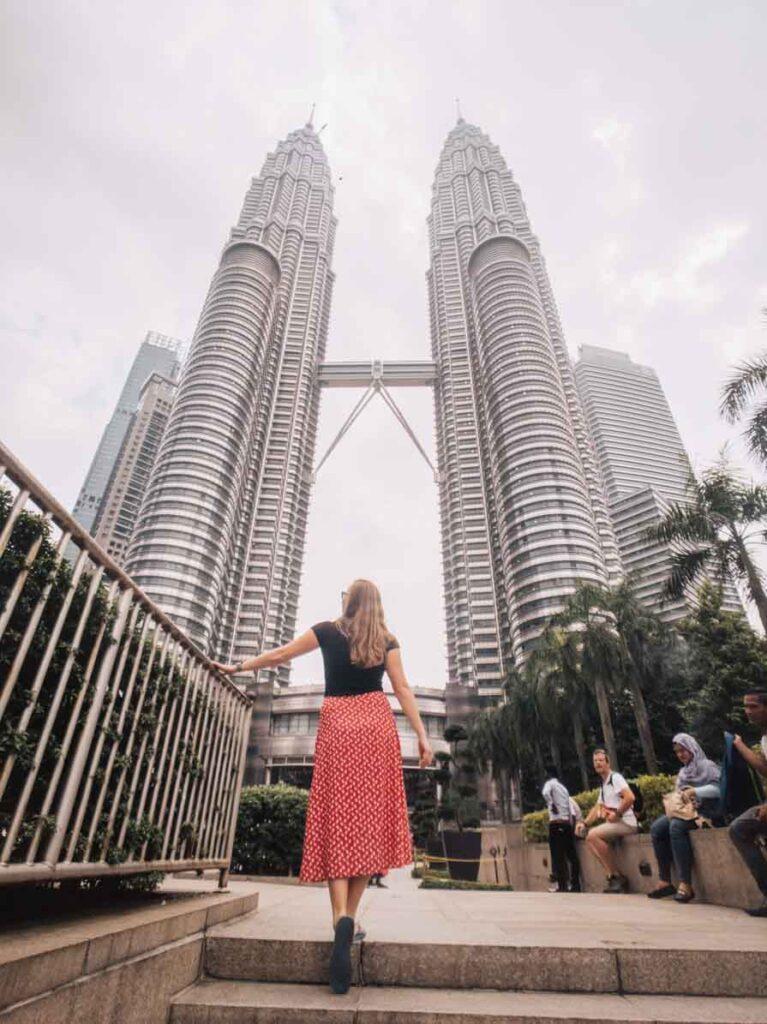 Petronas Towers Kuala Lumpur Malaysia Contiki