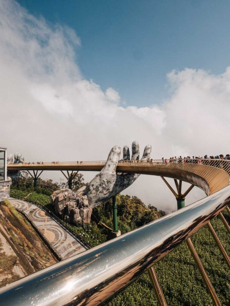 Golden Hands Bridge Da Nang