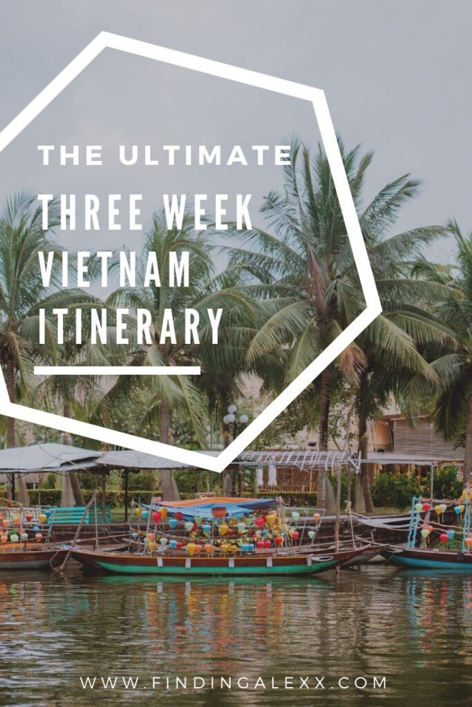 Three weeks in Vietnam pin