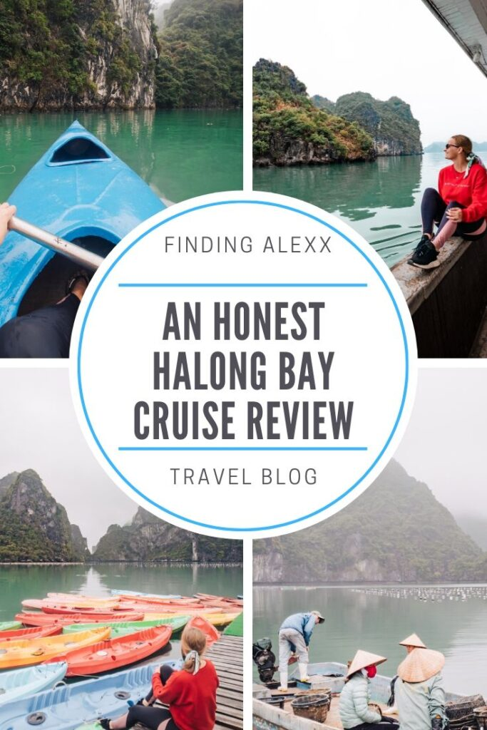 Halong Bay cruise pin