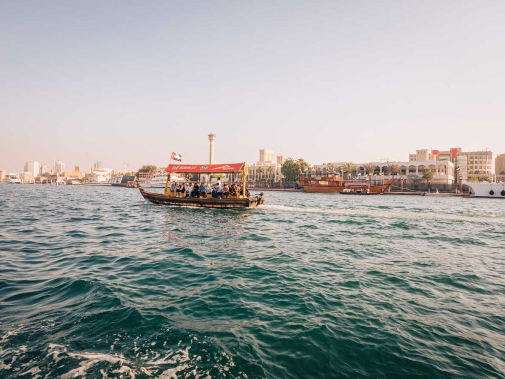 Dubai abra ride