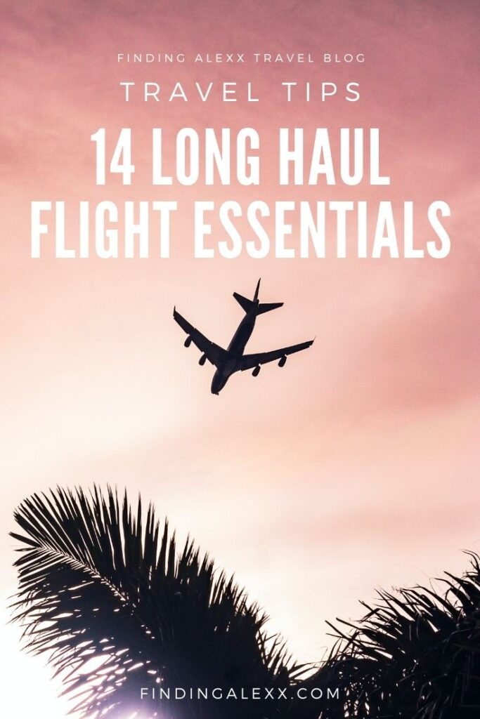 Carry on essentials for long-haul flights