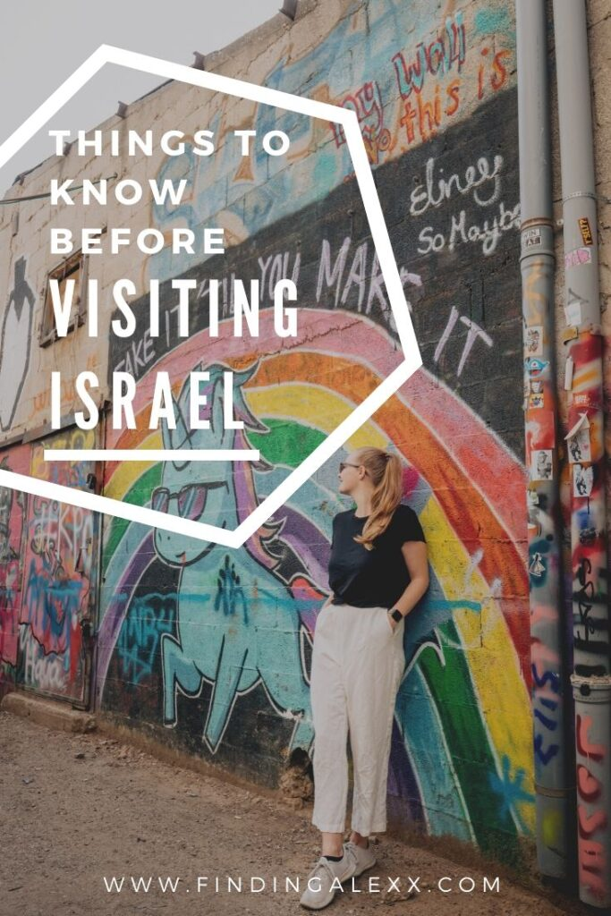 Things to know before going to Israel pin