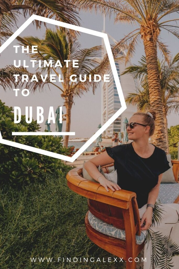 Dubai travel guide pin 2
