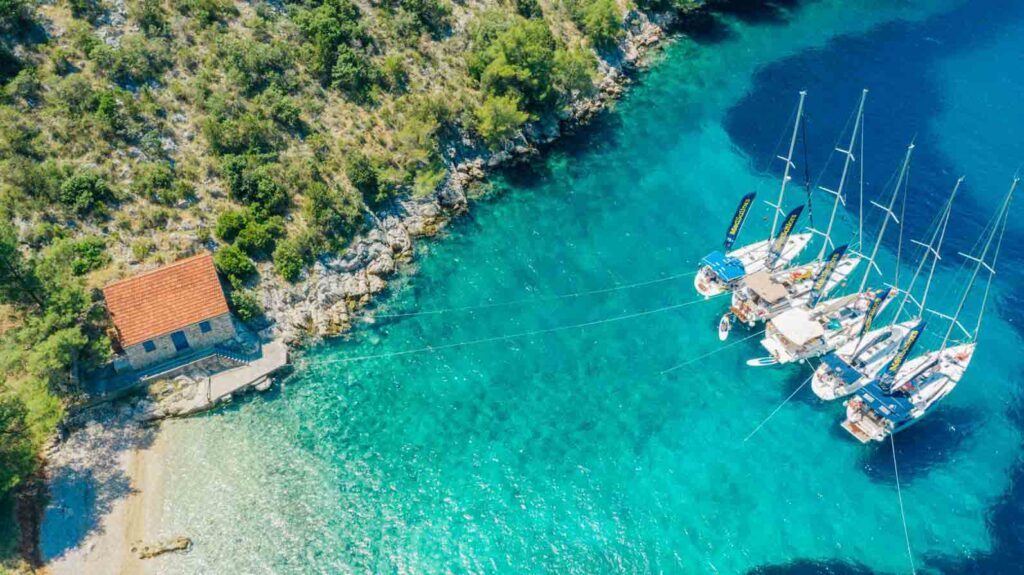 Yachts in Croatia