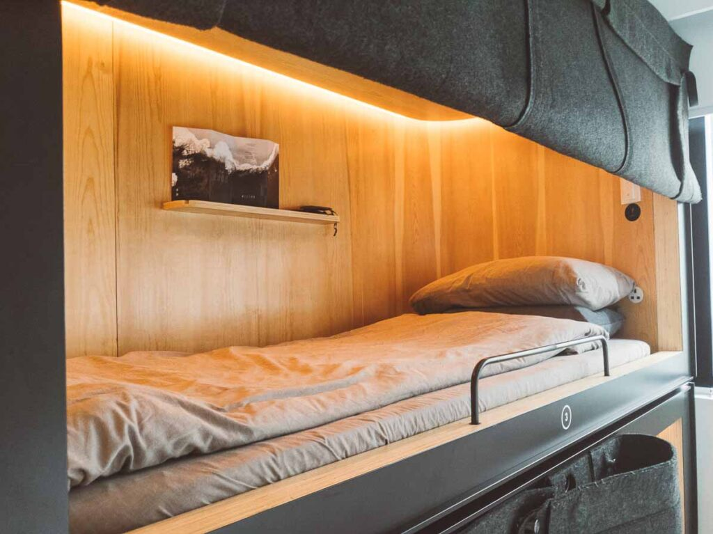 Hong Kong capsule bed