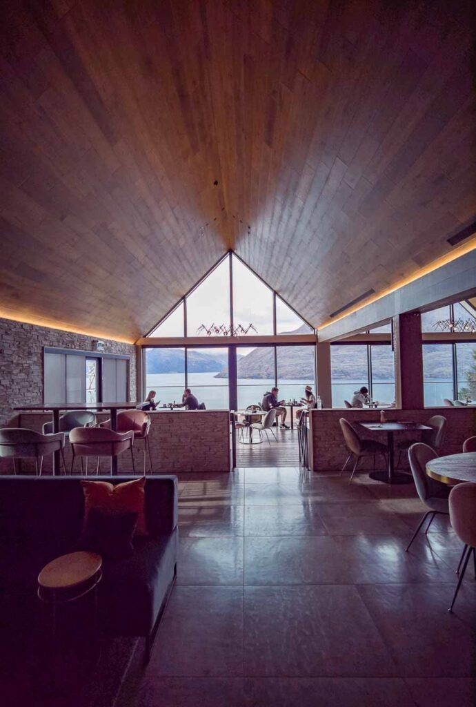 Nest Restaurant at Kamana Lakehouse Hotel in Queenstown