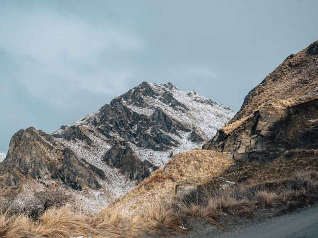 mountains in queenstown