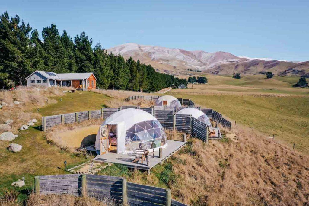 valley views glamping new zealand bucket list