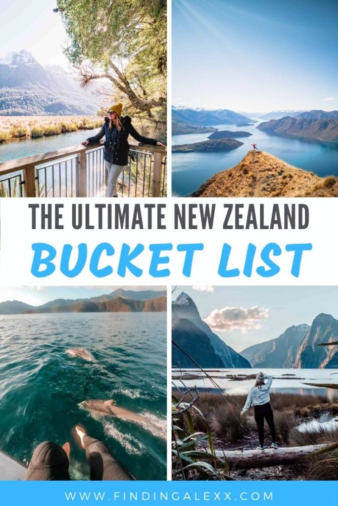 new zealand bucket list pin