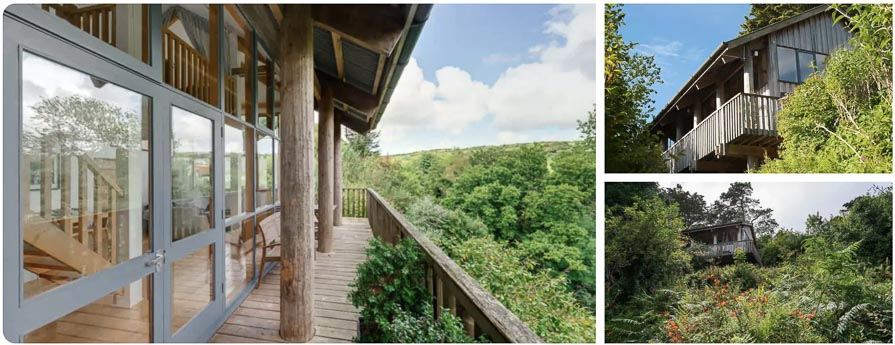treehouse glamping in cornwall