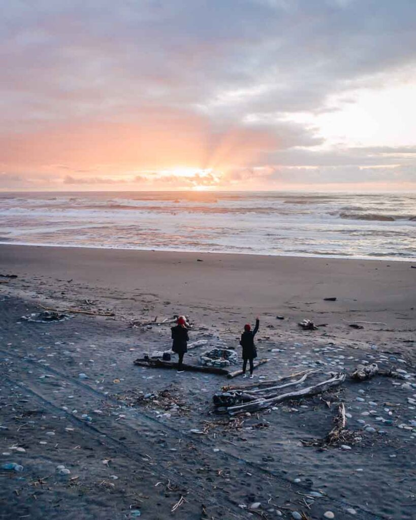 best places to visit in the south island ross beach