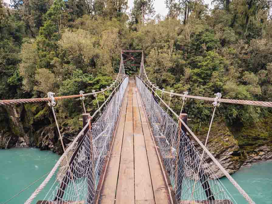 best places to visit in the south island hokitika gorge
