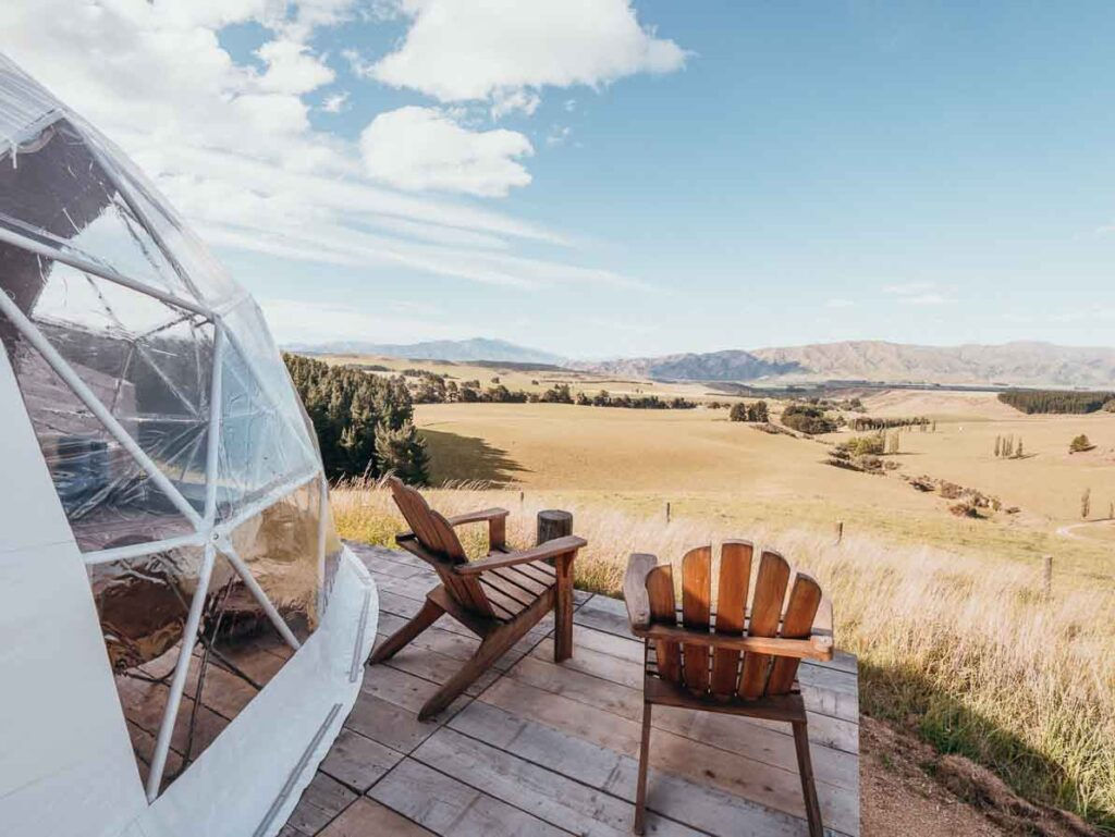 glamping in new zealand