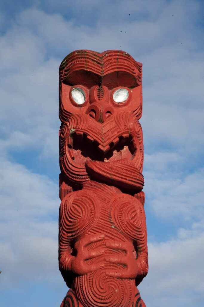 red new zealand culture tradition
