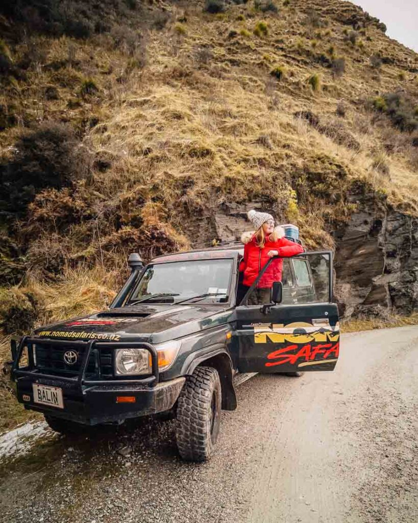 queenstown itinerary 4wd tour