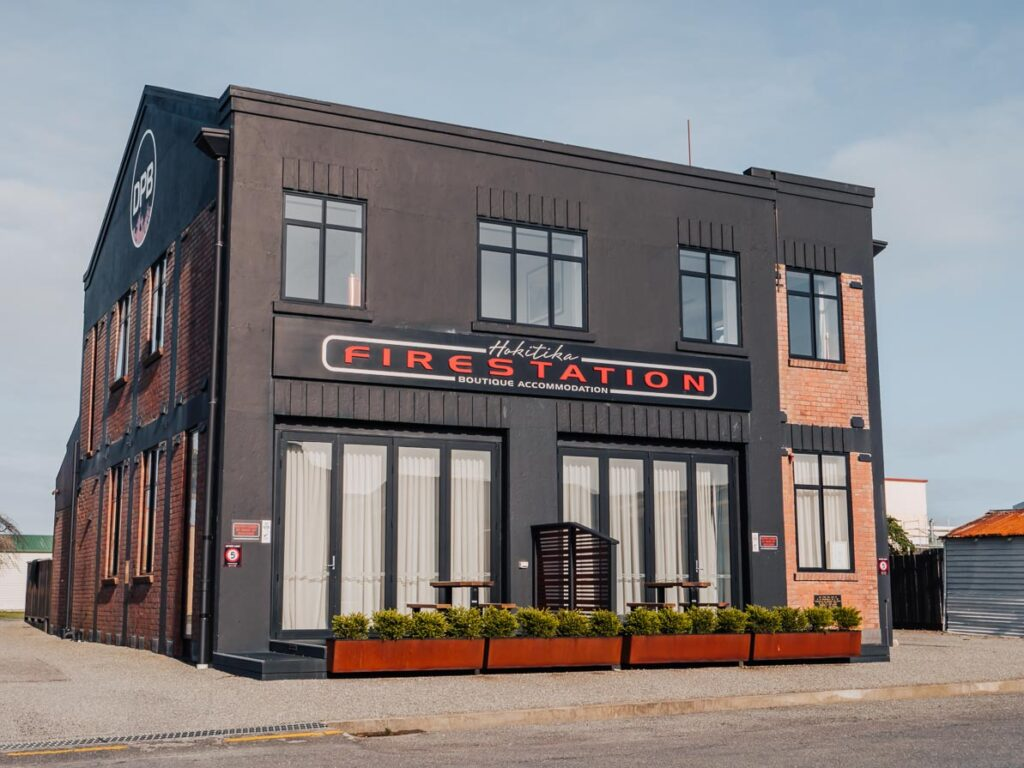 hokitika fire station boutique apartment